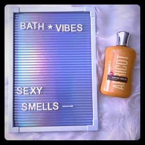 Apricot bath and body works lotion